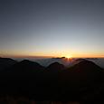 60 女峰山より夕景 2