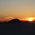 61 女峰山より夕景3