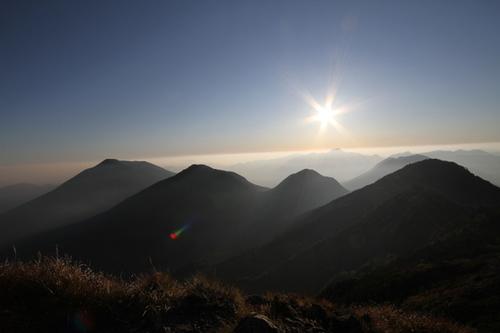 59 女峰山より夕景1